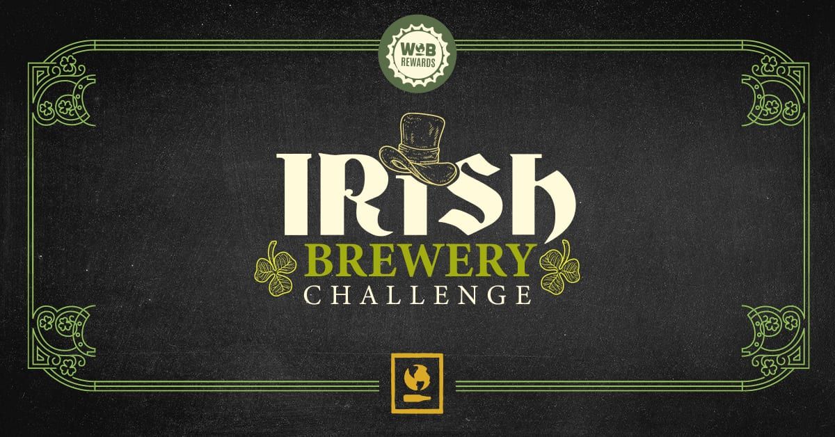 Irish Brewery Challenge – Win a Trip to Ireland for 2!